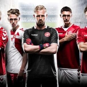 Danmarks landsholdstrøje