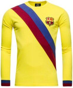 0bb797bd56c Retro foldboldtrøje, Barcelona